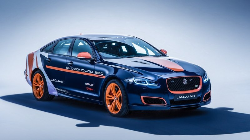 Jaguar Prepares XJR RRV For Bloodhound SSC