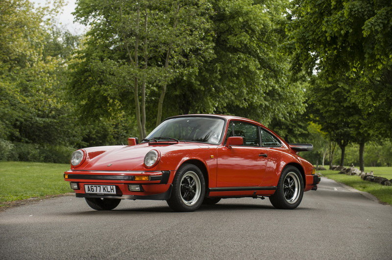 James May's 1984 Porsche 911 Carrera Will Be Put At Auction Exterior Wallpaper quality - image 634042