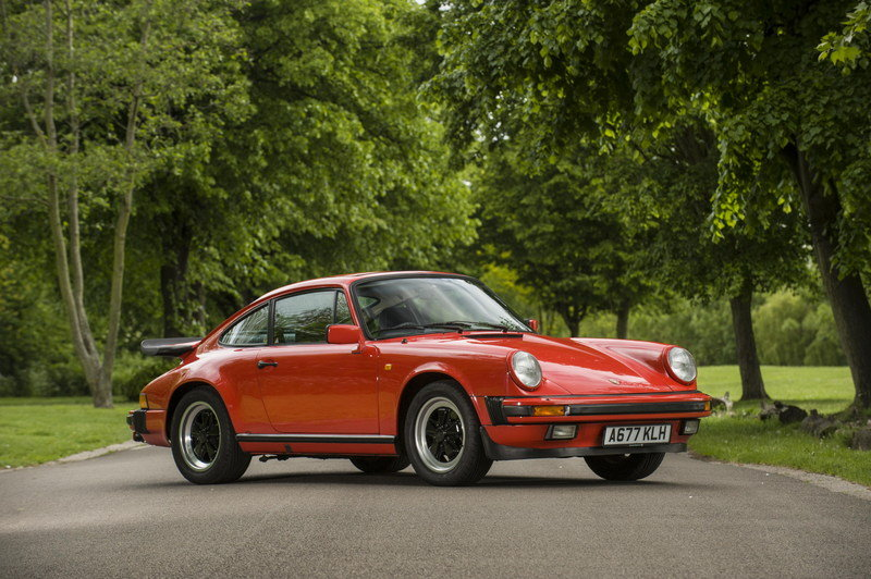 James May's 1984 Porsche 911 Carrera Will Be Put At Auction Exterior - image 634041