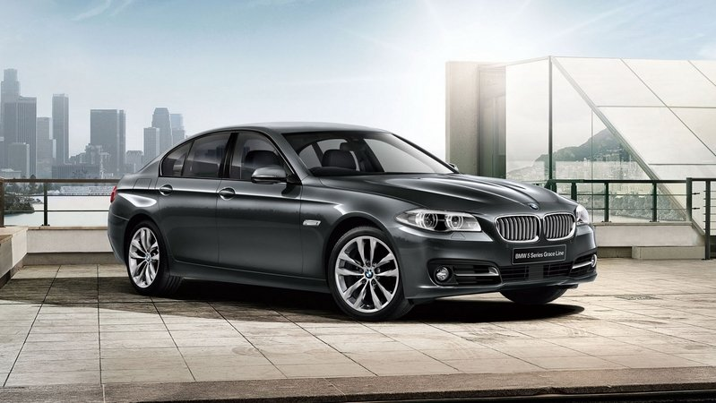 Japan Gets BMW 5 Series Grace Line Edition