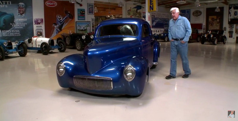 Jay Leno Reviews 1941 Willys Coupe: Video