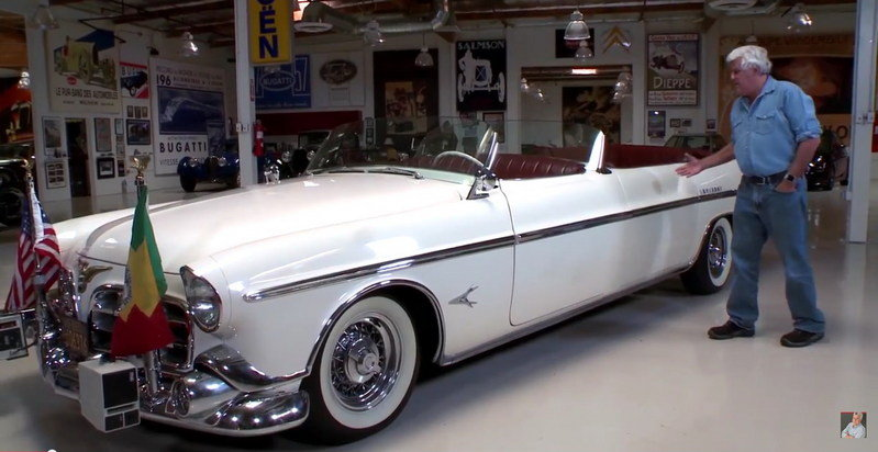 Jay Leno Reviews 1952 Chrysler Imperial Parade Car: Video