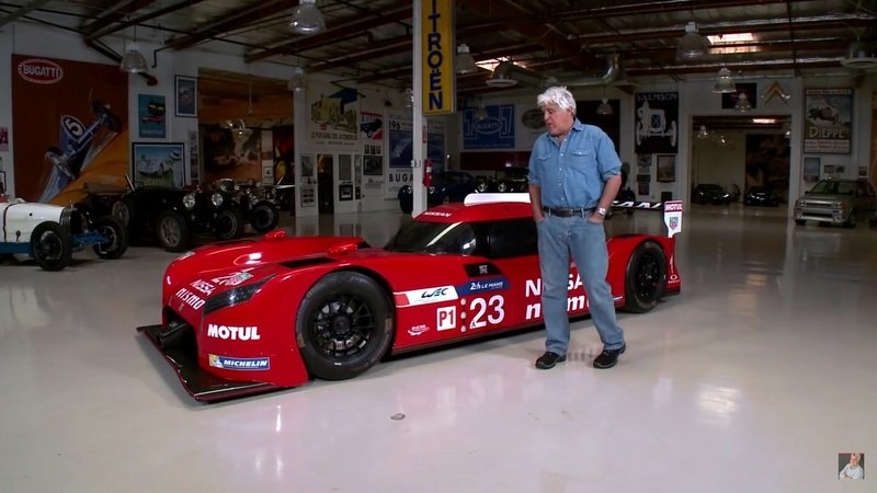 Jay Leno Reviews Nissan GT-R LM Nismo: Video