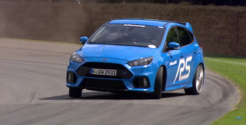 Ken Block Drives The Ford Focus RS At Goodwood: Video