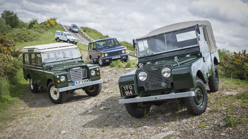 Land Rover Opens Heritage Driving Experience