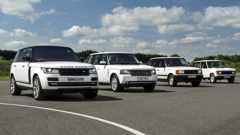 Land Rover Range Rover Turns 45