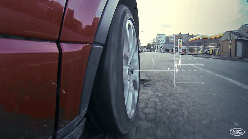 Land Rover Working To Warn Other Vehicles About Potholes: Video