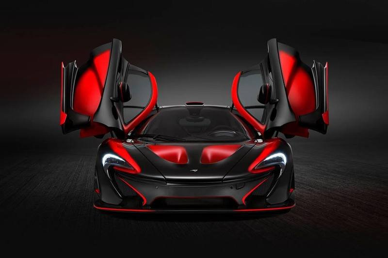 Latest McLaren P1 Built By MSO Looks Like Daredevil's Personal Ride Exterior - image 632643
