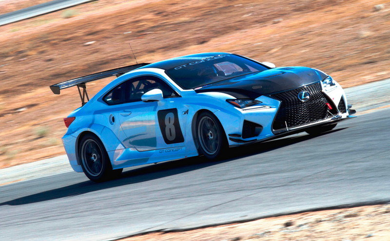 Lexus To Race Beefed-Up RC F At Pikes Peak