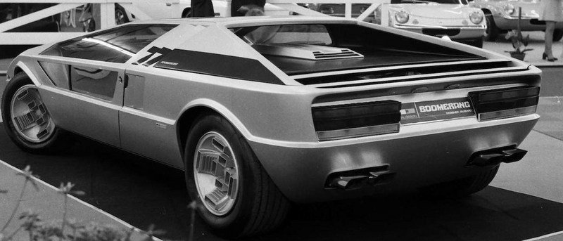 Maserati Boomerang Concept Will Be Auctioned In September Exterior - image 634281