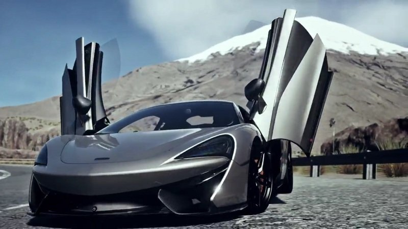 McLaren 570S Can Now Be Tested In DriveClub on PS4: Video