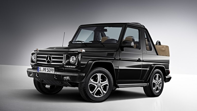 Mercedes-Benz Could Offer A Convertible SUV