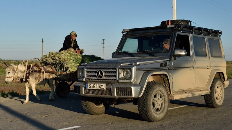 Mercedes-Benz G-Class Explores 12 Countries In 15 Days