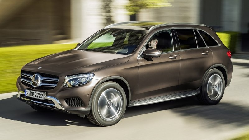 Mercedes GLC Will Get 450 AMG Sport and 63 AMG Versions