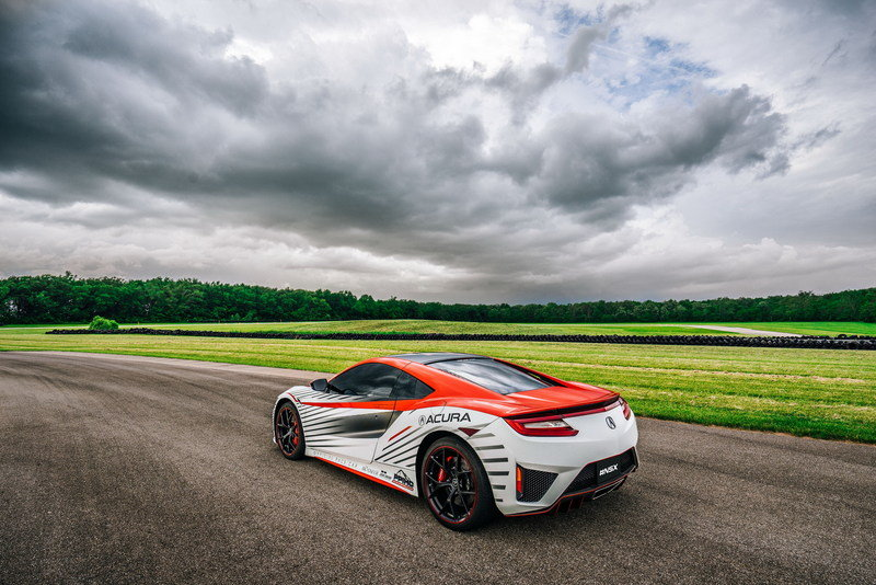 Acura NSX To Pace The 93rd Pikes Peak International Hill Climb High Resolution Exterior - image 635028