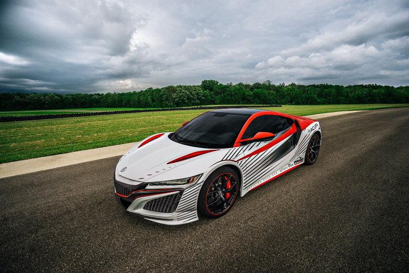 Acura NSX To Pace The 93rd Pikes Peak International Hill Climb High Resolution Exterior Wallpaper quality - image 635027