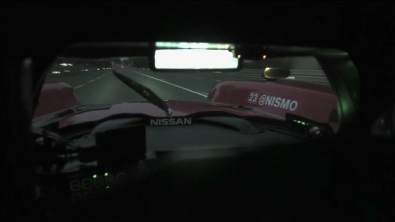 Nissan GT-R LM Nismo On Board At Le Mans: Video