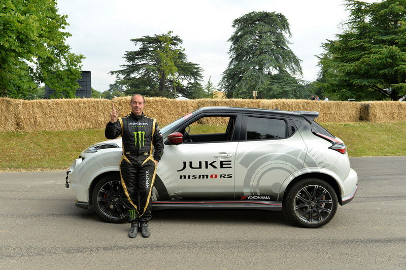 Nissan Juke Nismo RS Sets New Two-Wheeled Record High Resolution Exterior - image 635240