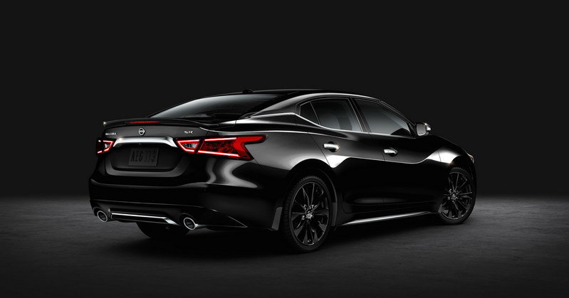 2016 Nissan Maxima SR Midnight High Resolution Exterior - image 635153