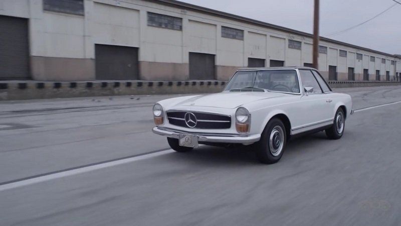 "Petrolicious Pays Tribute To Mercedes-Benz 280 SL ""Pagoda:"" Video"