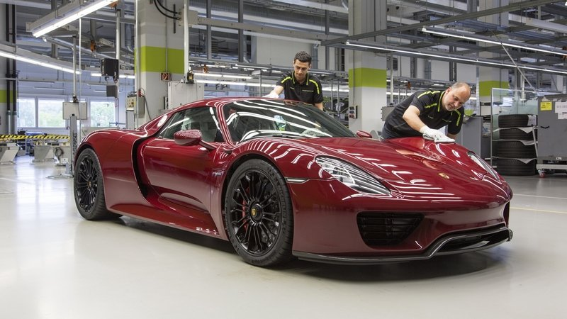 Porsche Ends Production Of 918 Spyder