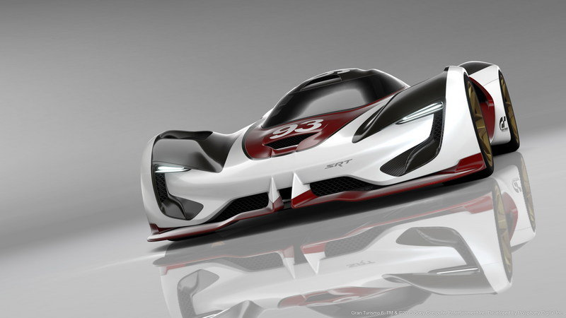 2015 SRT Tomahawk Vision Gran Turismo High Resolution Exterior Computer Renderings and Photoshop - image 632379