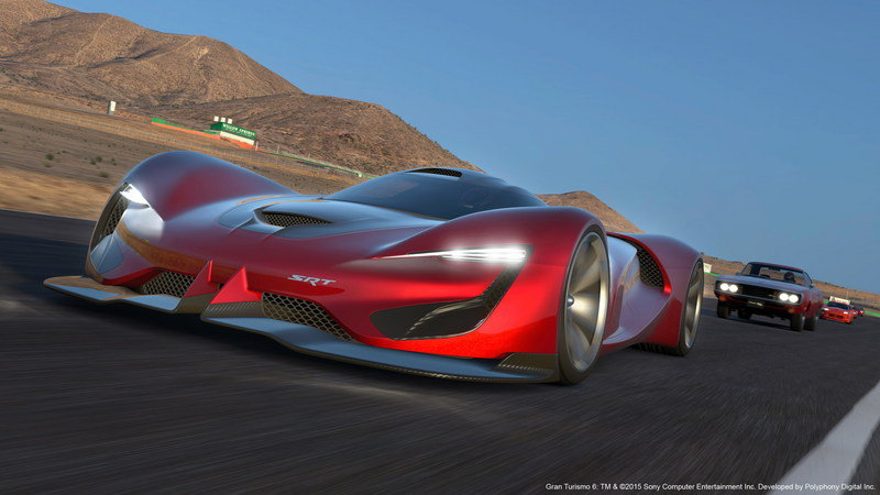 2015 SRT Tomahawk Vision Gran Turismo High Resolution Exterior Computer Renderings and Photoshop - image 632404
