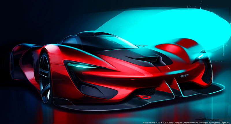 2015 SRT Tomahawk Vision Gran Turismo High Resolution Exterior Computer Renderings and Photoshop - image 632373