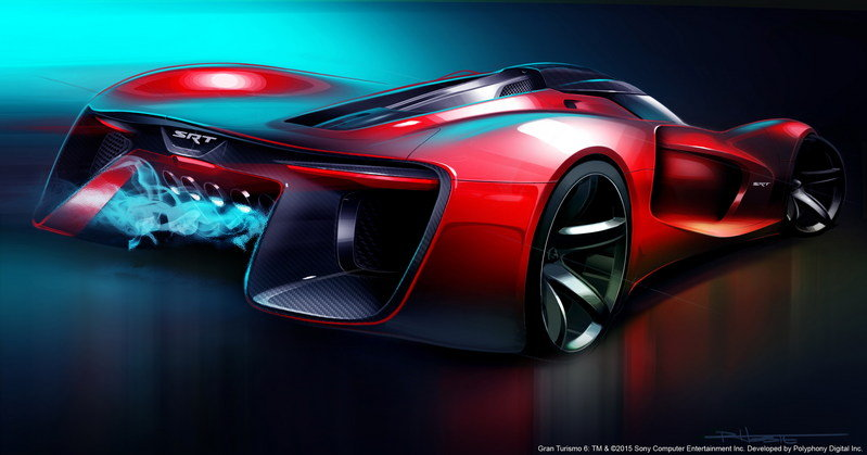 2015 SRT Tomahawk Vision Gran Turismo High Resolution Exterior Computer Renderings and Photoshop - image 632374