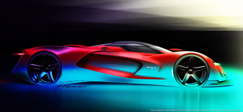 2015 SRT Tomahawk Vision Gran Turismo High Resolution Exterior Computer Renderings and Photoshop - image 632375