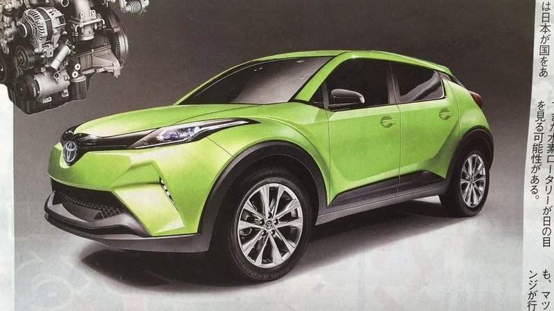 Toyota & Mazda Developing Small Electric SUV