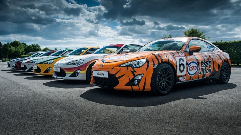 Toyota Pays Tribute To Its Heritage With One-Off Classic Liveries For GT-86