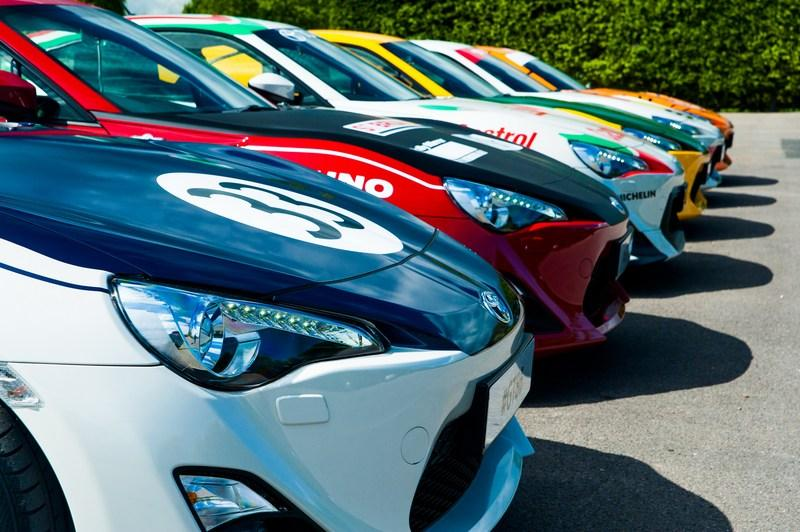 Toyota Pays Tribute To Its Heritage With One-Off Classic Liveries For GT-86 High Resolution Exterior - image 632532