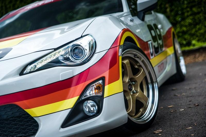 Toyota Pays Tribute To Its Heritage With One-Off Classic Liveries For GT-86 Exterior - image 632536