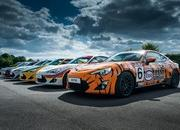 Toyota Pays Tribute To Its Heritage With One-Off Classic Liveries For GT-86 - image 632530
