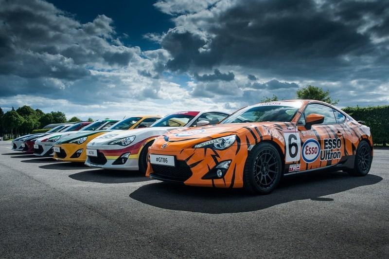 Toyota Pays Tribute To Its Heritage With One-Off Classic Liveries For GT-86 High Resolution Exterior - image 632530