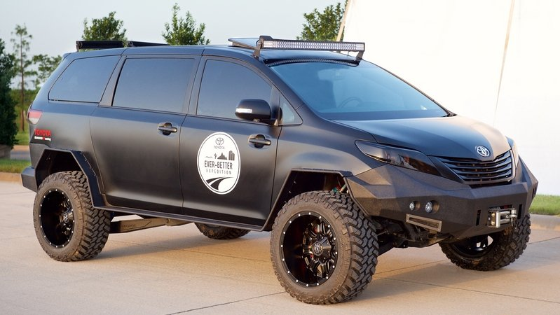 Toyota Ultimate Utility Vehicle (UUV) Previewed Before SEMA