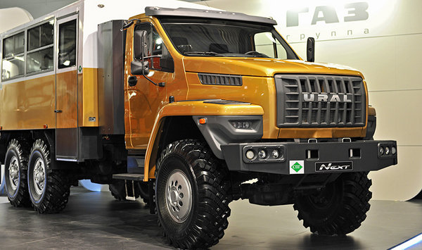 Ural Next - Russia's Most Extreme Off-Road Work Truck ...