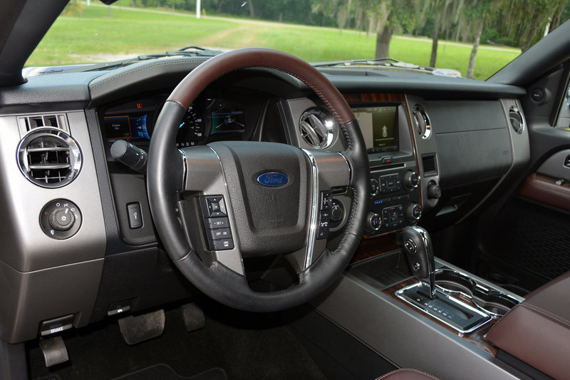 2015 Ford Expedition El Platinum Driven Top Speed
