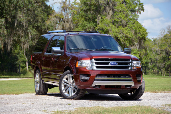 Ford Expedition El Platinum Driven Review Top Speed