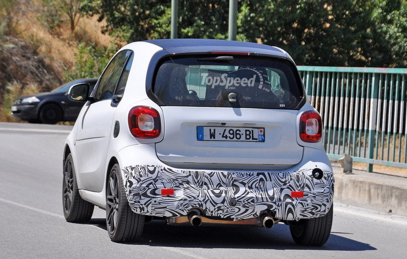Smart ForTwo Brabus Caught Testing Before Frankfurt Debut: Spy Shots