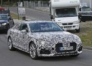 Next Audi A5 Caught Testing For The First Time: Spy Shots - image 636744