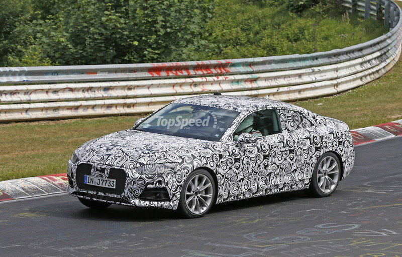 Next Audi A5 Caught Testing For The First Time: Spy Shots Exterior Spyshots - image 636734