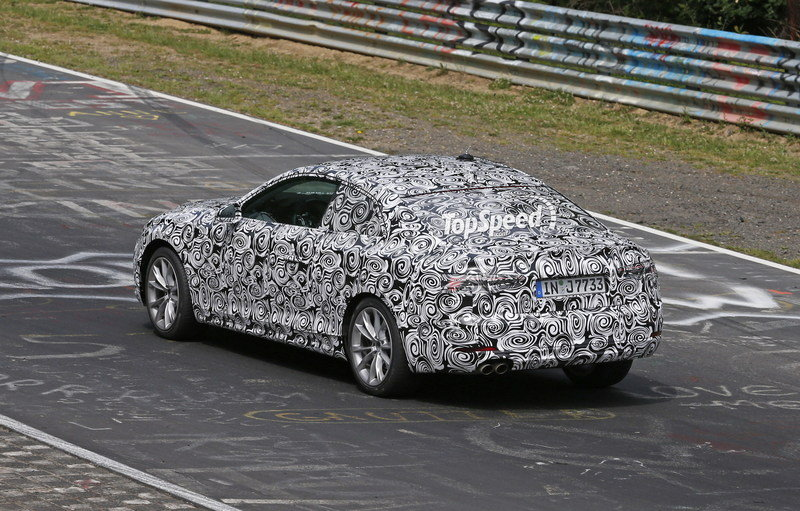 Next Audi A5 Caught Testing For The First Time: Spy Shots Exterior Spyshots - image 636738