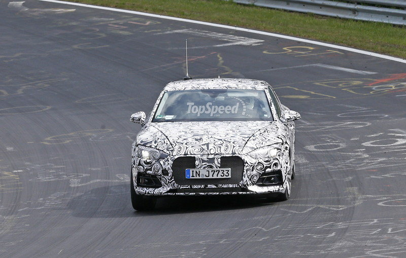 Next Audi A5 Caught Testing For The First Time: Spy Shots Exterior Spyshots - image 636732