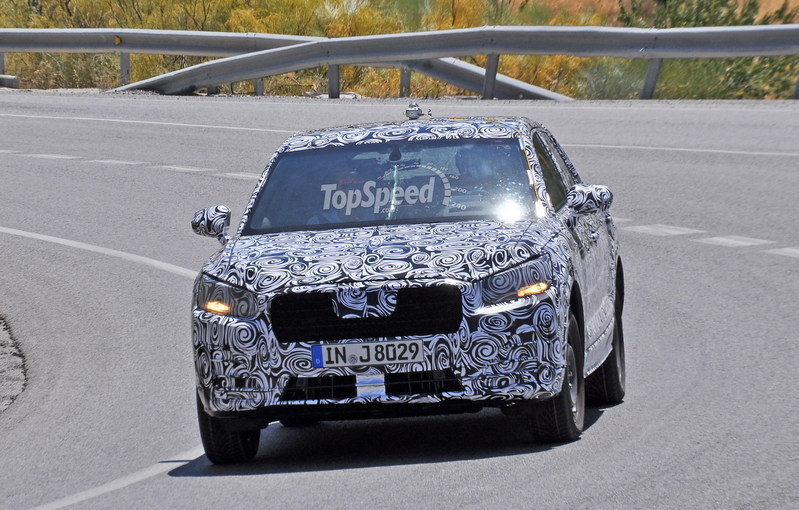 Audi Q1 Caught Testing For The First Time: Spy Shots