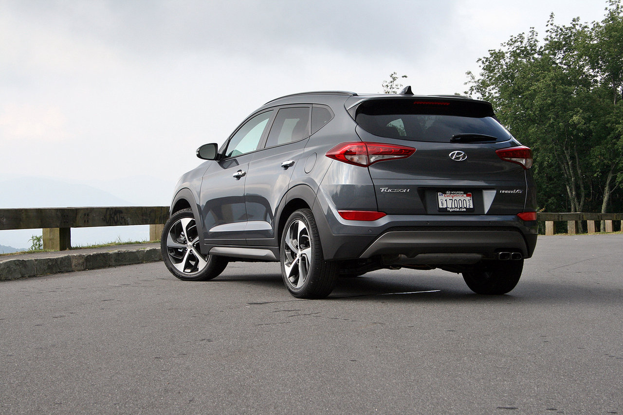 2016 hyundai tucson first drive picture 638654 car review top speed. Black Bedroom Furniture Sets. Home Design Ideas