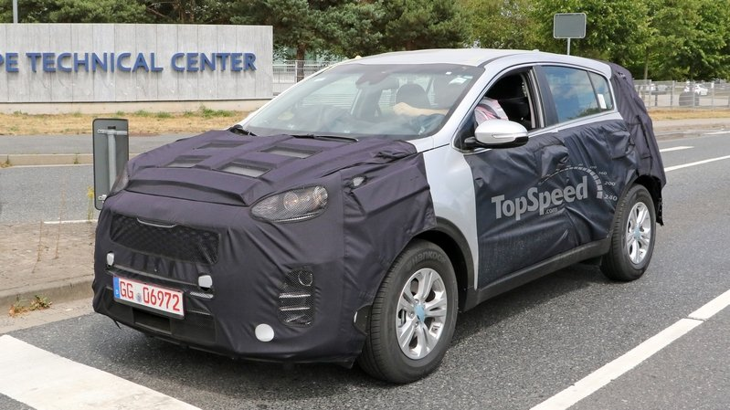 2016 Kia Sportage Spied Inside And Out: Spy Shots