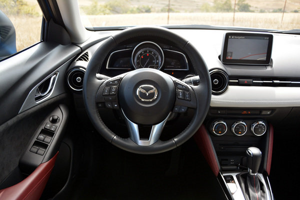 2016 mazda cx 3 driven car review top speed for Mazda cx 3 interieur