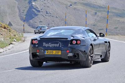 Aston Martin DB9 Successor Caught During Hot Weather Testing: Spy Shots
